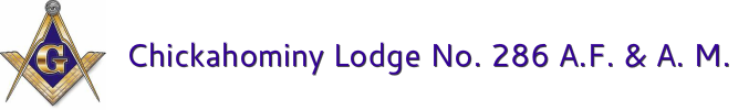 Chickahominy Lodge No. 286 A.F. & A.M.